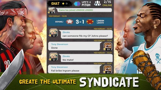 Underworld Soccer Manager 18 apk स्क्रीनशॉट
