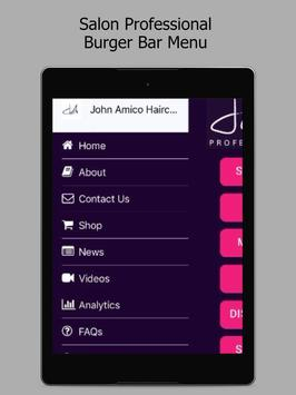 John Amico Haircare APK-screenhot