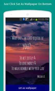Bible Quote Live Wallpapers HD apk screenshot
