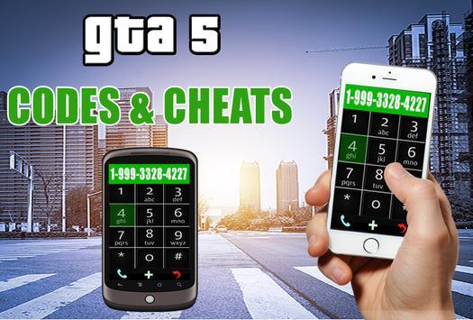 Cheats for GTA 5 - cell phone screenshot 2