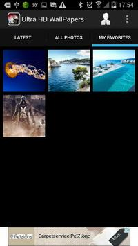 Ultra HD Wallpapers apk screenshot