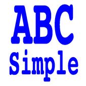 ABC Simple icon