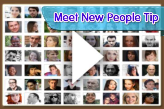 Free Badoo Meet New People Tip poster