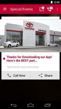 John Roberts Toyota DealerApp apk screenshot