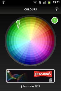 Johnstones ColourMate poster