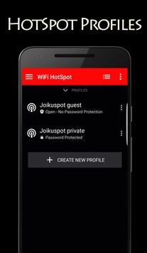 JoikuSpot WiFi HotSpot screenshot 1