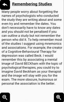 AQA Psychology Depression Free screenshot 1