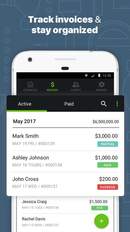 Contractor Estimate  Invoice Apk Download  Free Business App For