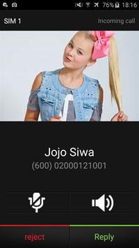 Jojo Siwa Call screenshot 1