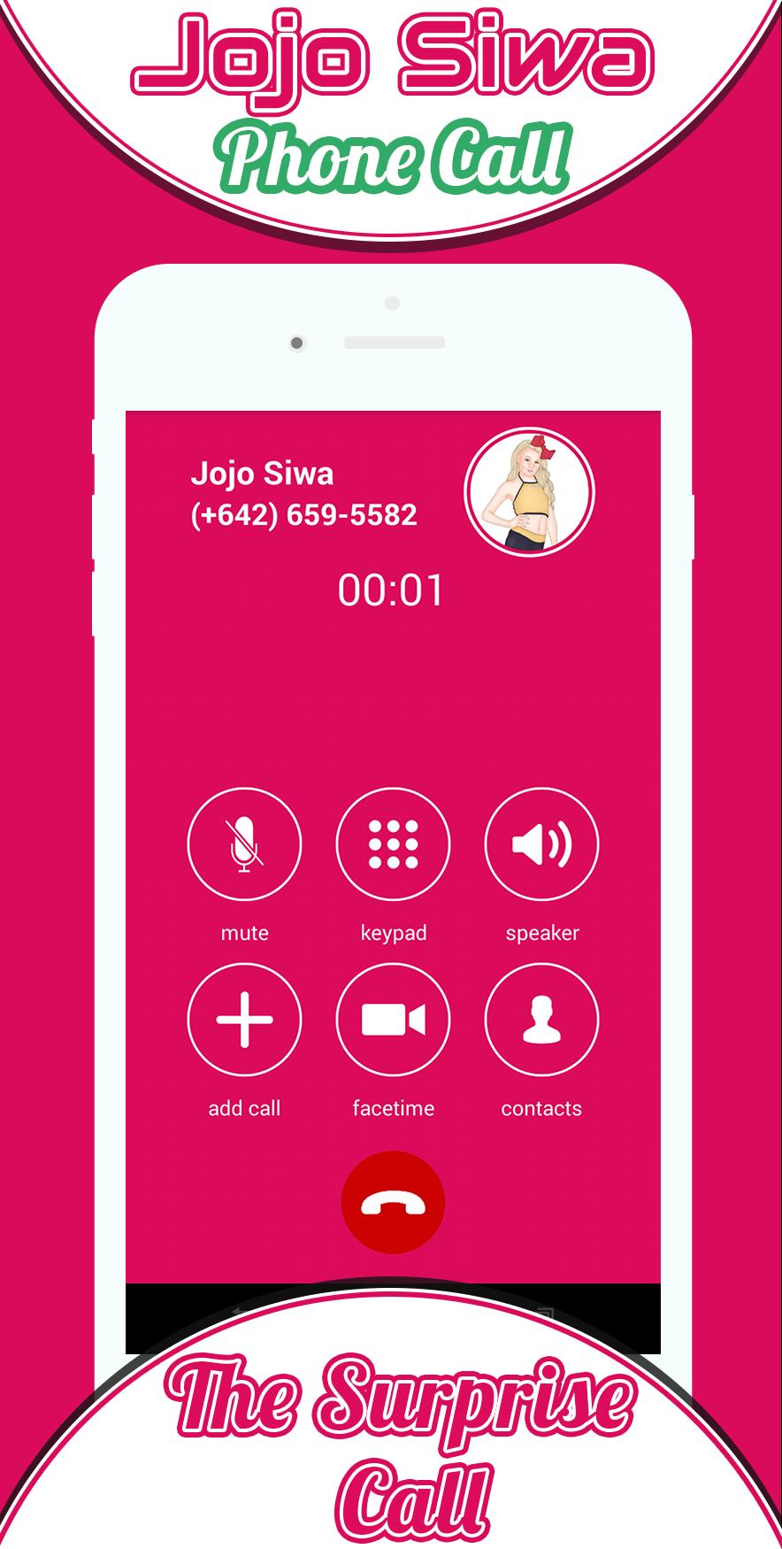 Phone Call From Jojo Siwa For Android Apk Download