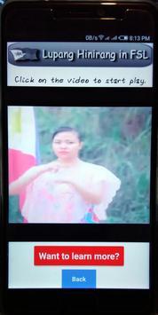 Filipino Sign Language screenshot 5