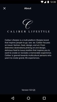 Caliber Lifestyle apk screenshot