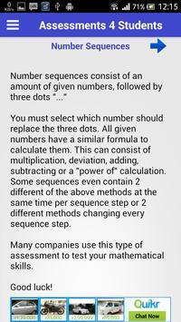 Assessments 4 Students apk screenshot