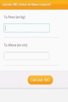 Calcular IMC Gratis apk screenshot