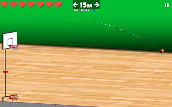 Basketball Sniper apk screenshot