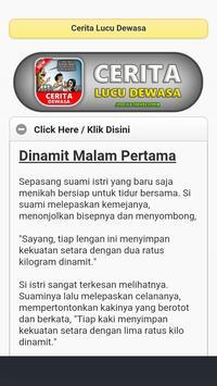 Cerita Lucu Dewasa Screenshot