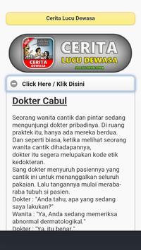 Cerita Lucu Dewasa apk screenshot