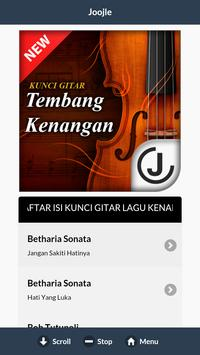 Kunci Gitar Tembang Kenangan apk screenshot