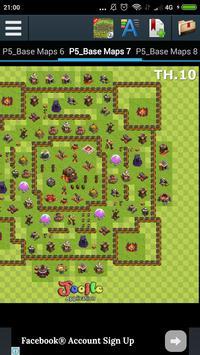 Maps of COC 2017 apk screenshot