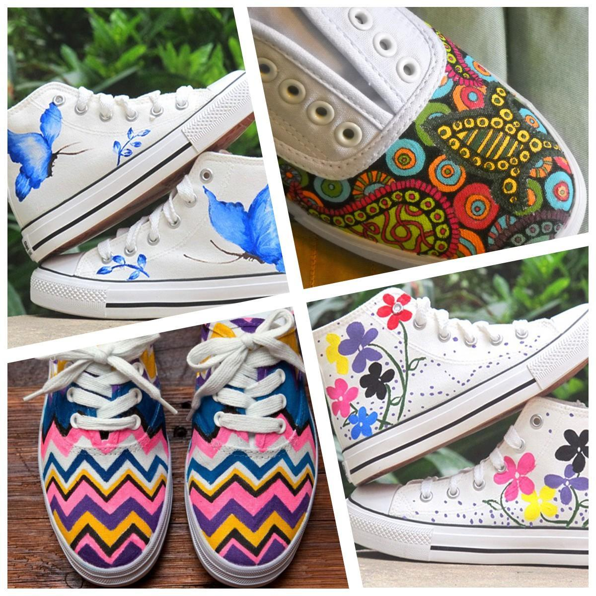 Painted Shoes Ideas For Android Apk Download