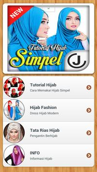 Tutorial Hijab 2018 Simple apk screenshot
