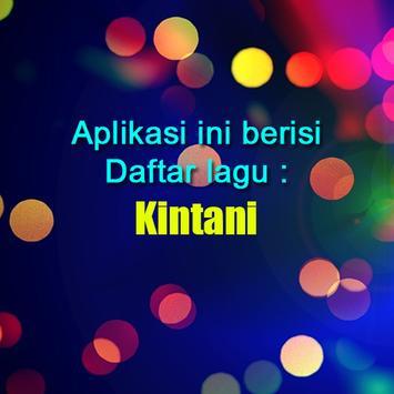 Lagu Minang Kintani poster