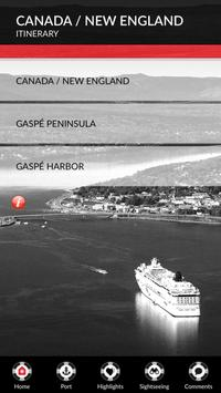 The Gaspé Port of Call poster