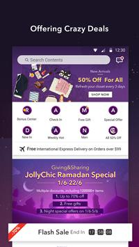 JollyChic-Fashion Shopping app apk screenshot