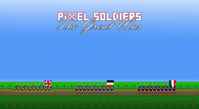 Pixel Soldiers: The Great War poster