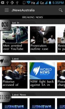 JNewsAustralia poster
