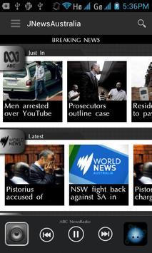 JNewsAustralia screenshot 1