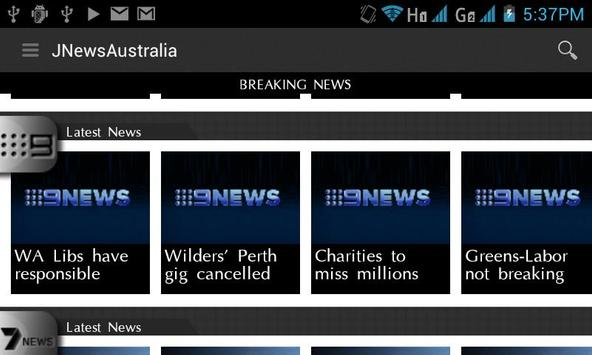 JNewsAustralia screenshot 3
