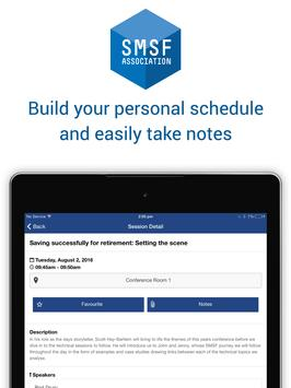 SMSF Association Events apk screenshot