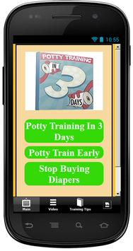 Potty Training In 3 Days poster