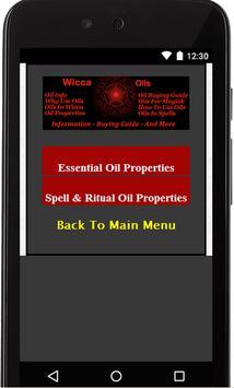 Wicca Oils screenshot 3
