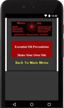 Wicca Oils screenshot 8