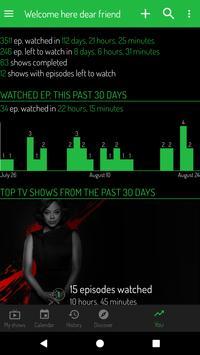 TV Show Tracker - Trakt client apk screenshot