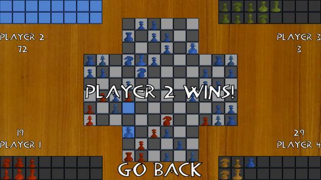 Free 4 Player Chess screenshot 5
