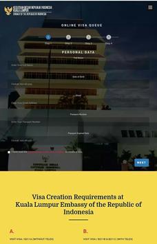 Indonesian Visa KL apk screenshot