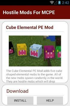 Hostile Mods For MCPE screenshot 18