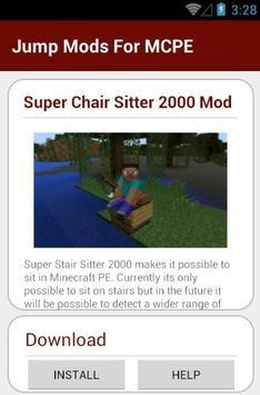 Jump Mods For MCPE screenshot 3