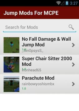 Jump Mods For MCPE screenshot 6
