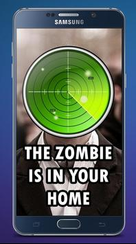 Zombie tracker poster