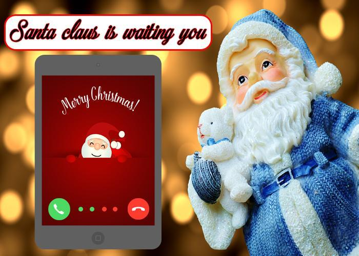 Video call from santa apk download free entertainment app for video call from santa poster m4hsunfo