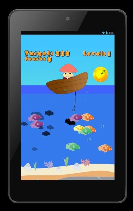 Fishing games free for kids apk download free casual for Fish games free