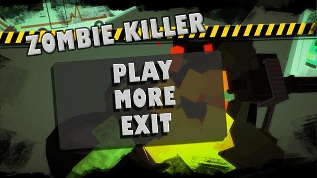Zombie combat killer:Frontline poster