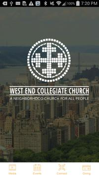 West End Collegiate Church poster