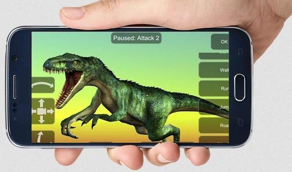 Allosaurus Mannequin poster