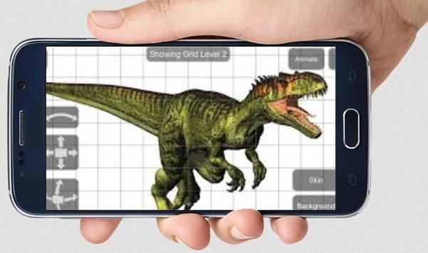 Allosaurus Mannequin screenshot 1