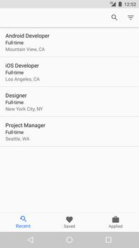 Job Hunt for Indeed Search apk screenshot
